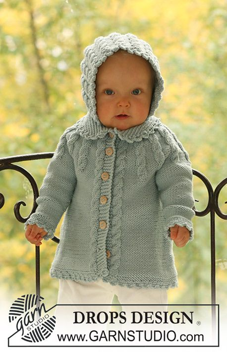 Love this coat and bonnet...and this baby is totally adorable!