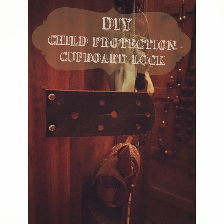 Crafty Crafty Book: DIY Child Protection - Vintage Look