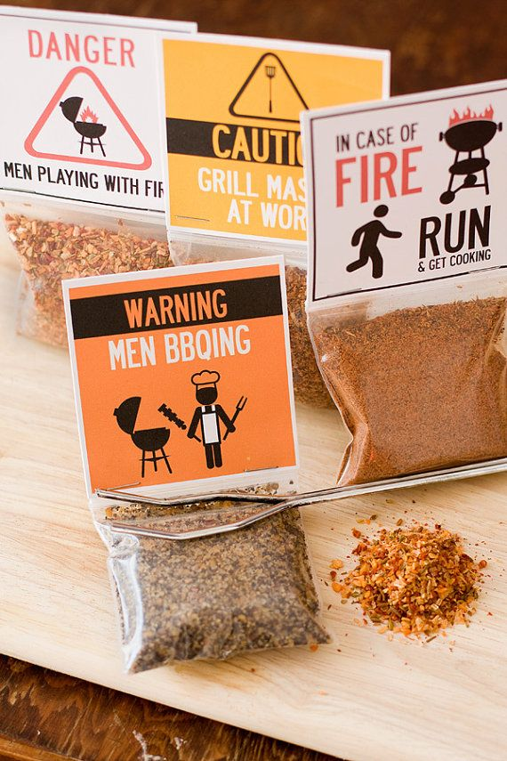 Grilling BBQ rubs - our barbecue spices gift set makes a delicious gift for Father's Day gift and a funny gift for guys who love to cook. By Dell Cove Spice Co., Chicago, IL http://www.dellcovespices.com