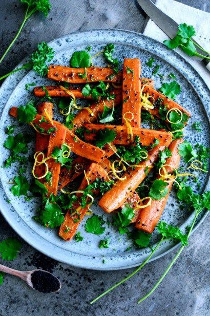 Krydret gulerodssalat opskrift | JulieKarla