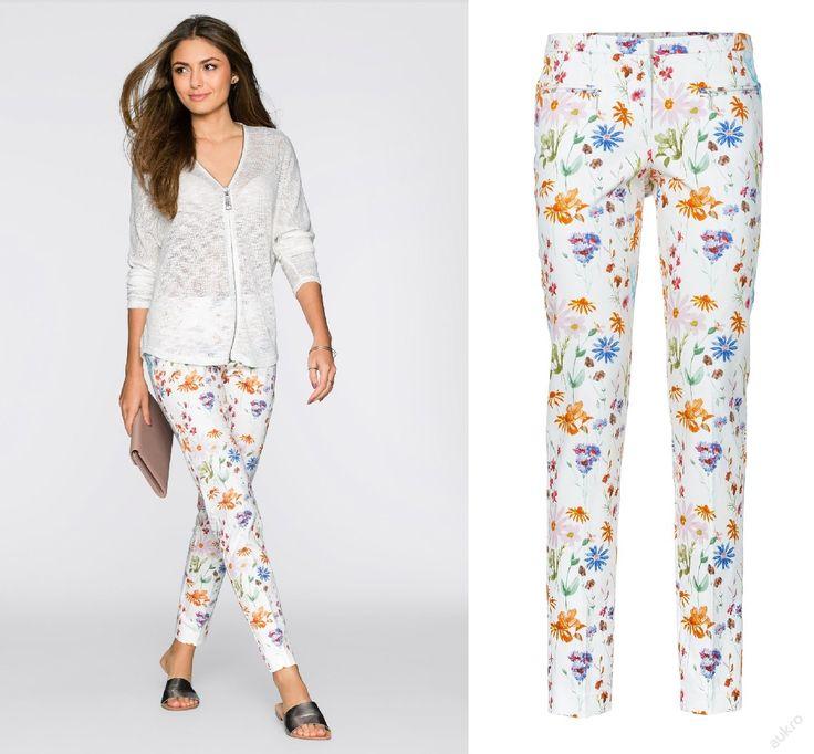 NOVÉ ,,BODY FLIRT svěží kalhoty vel.52 -pas 120cm :: AVENTE ...móda s nápadem