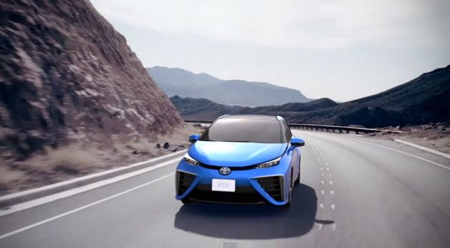 Toyota announces plans to have a hydrogen-powered vehicle available to consumers in Japan early next year and the USA by summer 2015.