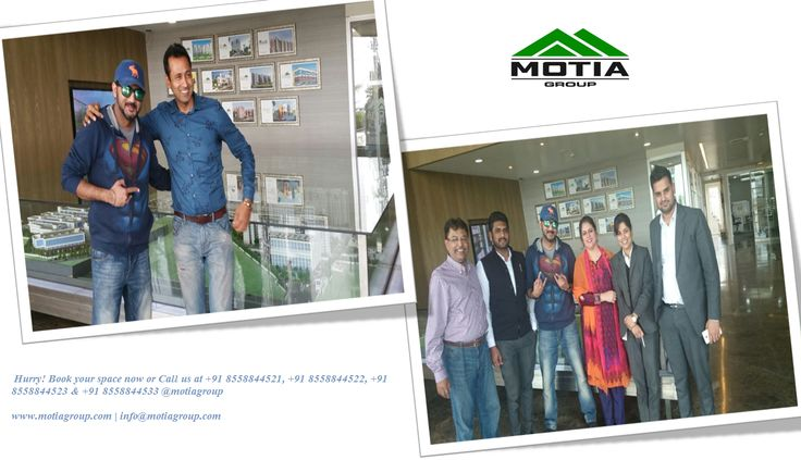 Visit of @GolmaalGagan at @motiagroup with Director #LCMittal and #MarketingStaff