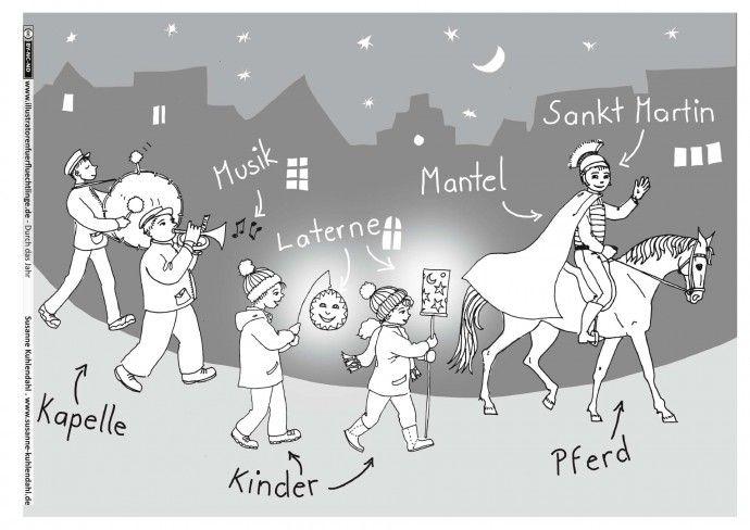 Durch das Jahr - Sankt Martin Martinszug - Kuhlendahl