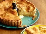 Picture of Super Apple Pie Recipe. Alton Brown can use apple juice in place of applejack