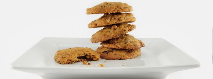 The name says it all - Bourbon Bacon Chocolate Cookies. Smoky and salty pairs nicely with the sweetness of the bourbon, chocolate and vanilla flavors.