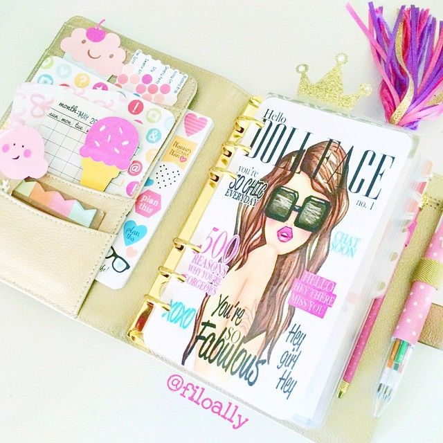 filoally: How adorable is this dashboard from @planningtobehappy? I'm obsessed