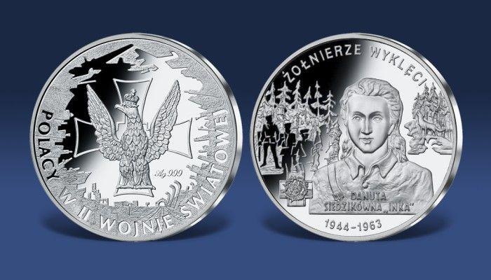 Srebrny medal Żołnierze Wyklęci