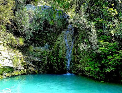 Cyprus Adonis Baths & Waterfalls in Pafos