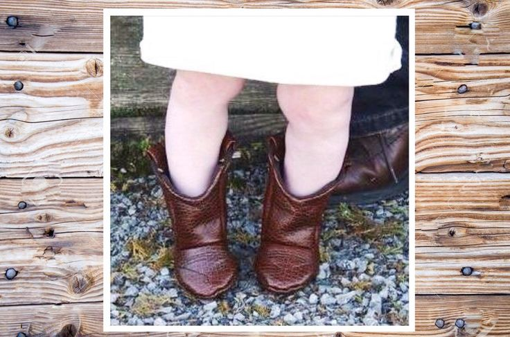 Baby Brown Cowboy Boots, Medium Brown Leather, 12-18 Month Size, READY TO SHIP by 2Fab on Etsy https://www.etsy.com/listing/290147757/baby-brown-cowboy-boots-medium-brown