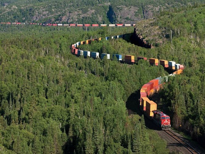 Landscapes Canadian Pacific Railway
