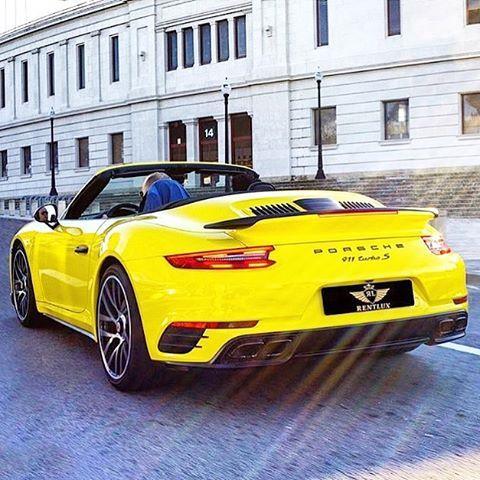 | Driving it cabriolet 💛💛 | #911TurboS ➖➖➖➖➖➖➖➖➖➖➖➖ 👉👉 @cars.from.germany 👈👈 | #PorschePix | via: @supercarsbcn / @porsche_switzerland owner: @rentlux_bcn ➖➖➖➖➖➖➖➖➖➖➖➖ #CarsFromGermany #Porsche247 #911legendsneverdie #Porsche #PorscheMotors #CayenneClub #Turbo #Carrera #Cayman #Macan #Cayenne #Panamera #Targa #Boxster #Spyder #Cabrio #Car #GT #GT3 #GT3RS #GT4 #RS #911 #991 #917 #918 #919 #718 #PorschePix ➖➖➖➖➖➖➖➖➖➖➖➖ 👉 Use our Hashtag: #PorschePix 👈