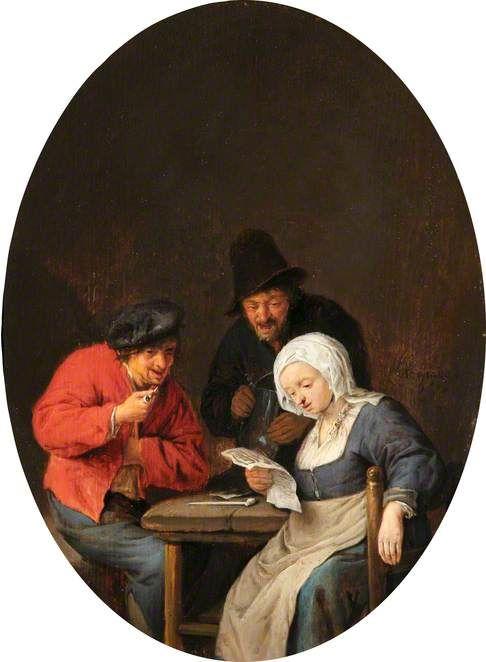 Life in Haarlem. Adriaen van Ostade 1610- 1685