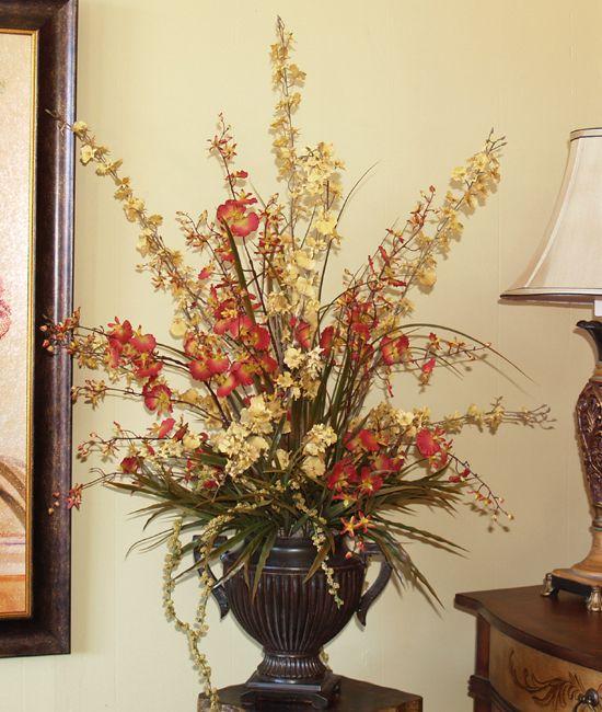 22 best Silk Flowers Natural Collection images on Pinterest - silk arrangements for home decor