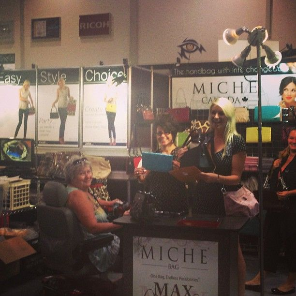 Join us for Customer Appreciation Day at the Ex! Not available to make it? Keep your eyes peeled, we're on the road! #MicheCanada #Micheontheroad #CNE *Miche Canada* #michecanada #michefashion #fashion #style #purses #handbags #accessories