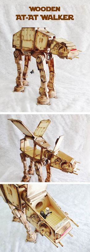 Fully poseable, articulating neck, Lego panels in body and cockpit, weighted feet. For the true Star Wars fan.