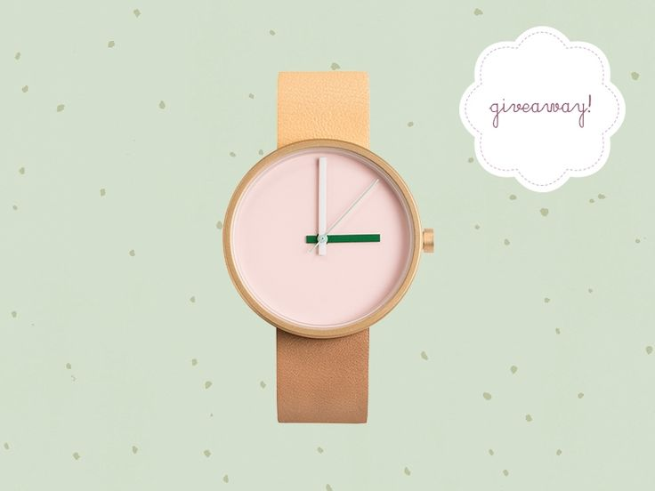 We've got two of these dashing timepieces from AÃRK collective up for grabs – wahoo!