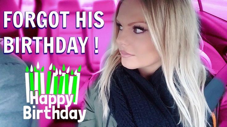 I FORGOT HIS BIRTHDAY !!!