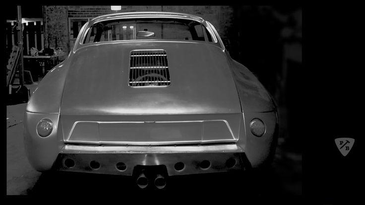 Rawsche rear by Paul Begg. Outlaw Porsche 911