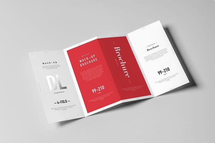4xDL Brochure Mock-up on Behance