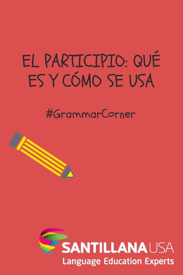 El participio es la forma no personal del verbo, que al igual que el gerundio y el infinitivo, suele emplearse para organizar tiempos compuestos como el presente perfecto o el pluscuamperfecto.