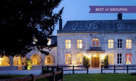 Château de Cocove à Recques Sur Hem : Court séjour gourmet 4* dans le Nord-Pas-de-Calais: #RECQUESSURHEM 99.00€ au lieu de 165.00€ (40% de…
