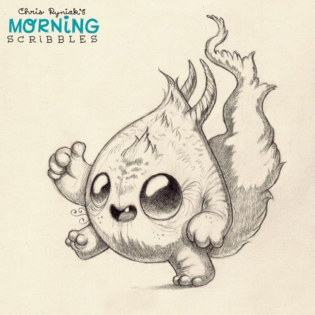 Thumbs up! #morningscribbles