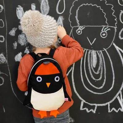 Commandez dès maintenant notre Sac à dos pour enfant Pingouin Ned ESTHEX. Sac à dos parfait pour une rentrée des classes en école maternelle ou primaire. Livraison soignée. Paiement sécurisé.