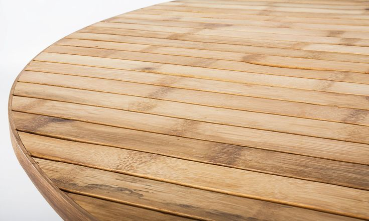 Bambu soffbord Ø 140 cm