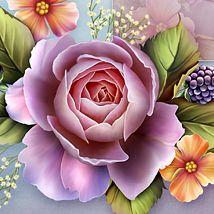 Moonbeam's English Roses 2D 3D Models moonbeam1212
