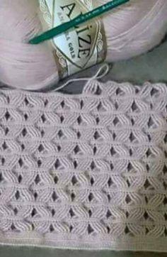 Tina's handicraft : crochet stitch ✿⊱╮Teresa Restegui http://www.pinterest.com/teretegu