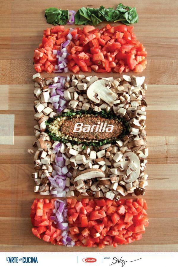 Creative Designs from the Barilla L'arte della Cucina Poster Design Contest Photo