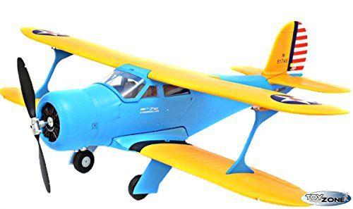 RC Avión stagge rwing 21Azul Doble Decker EPO Kit de suspensión 24gHz 1100mm 6CH