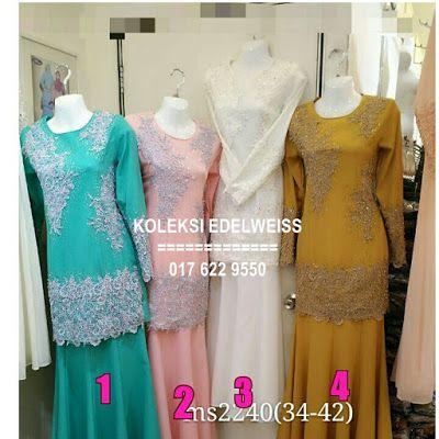 Baju Kurung Moden Terkini Koleksi Hari Raya 2016