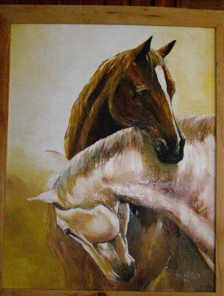 Mis caballos enamorados