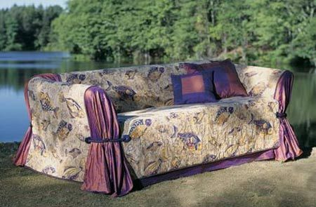 Home-Dzine - How to make a sofa or couch slipcover without the hassle