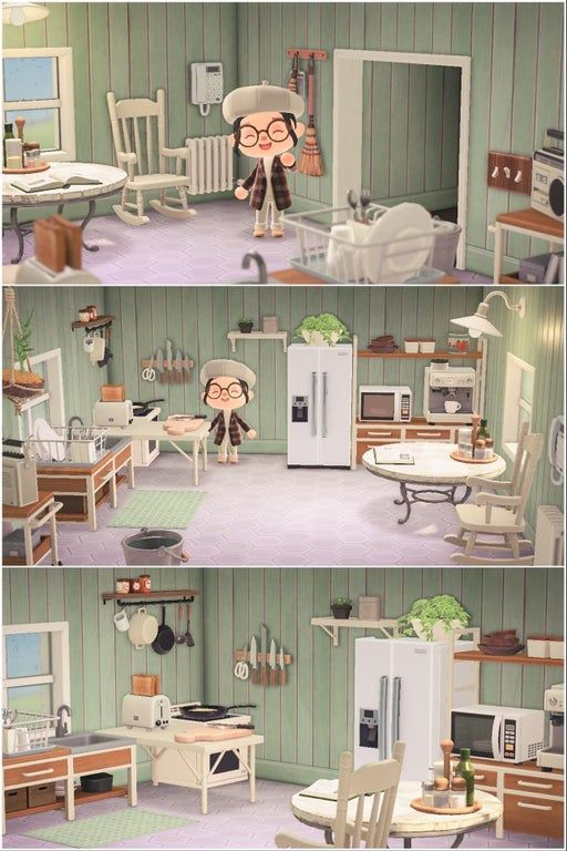 Just a cozy little kitchen. : AnimalCrossing #acnh island ... on Animal Crossing Kitchen Island  id=49138