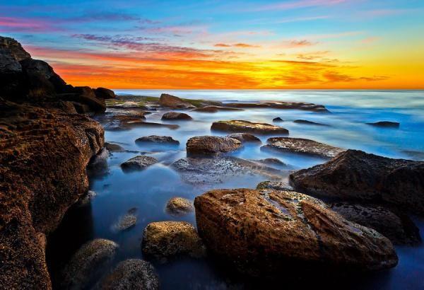 Australian sunrise