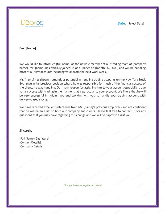 How to write a new business introduction letter how to write a letter introducing your business business expocarfo