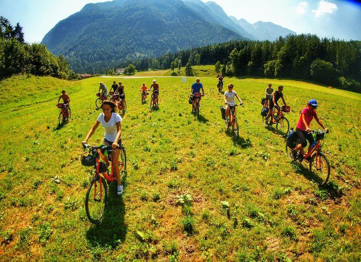 Alto Adige in sella a una bici, per ciclisti allenati e per famiglie, Italy