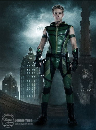 Smallville Green Arrow. I know the CW has done another show with this character....However for me Justin Hartley will always be the Green Arrow.