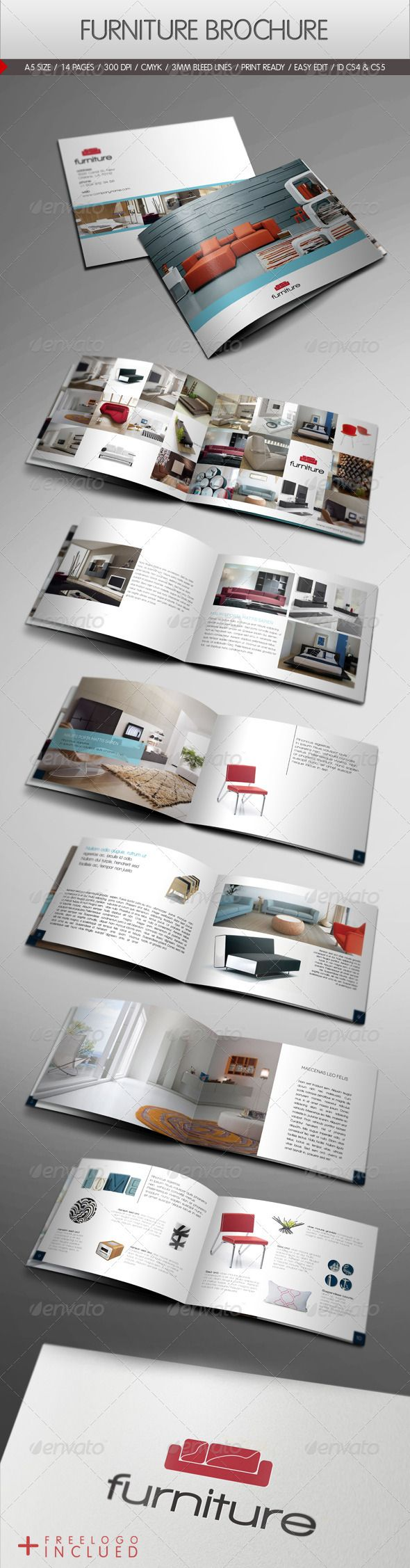 Furniture Brochure - GraphicRiver Item for Sale