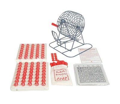 Klassisk bingo med tombola, 18 deltakere
