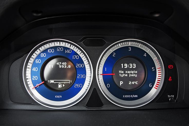 Volvo S60 instrument dials #volvo #s60 #instruments more: http://premiummoto.pl/05/21/volvo-s60-d5-r-design-nasza-sesja