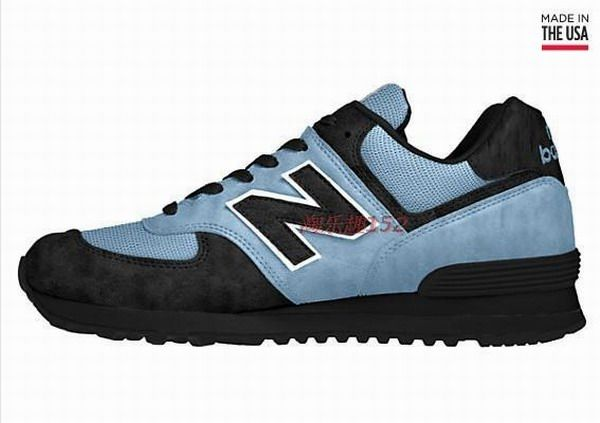 Joes New Balance 574 US574 Blue Dark Black The Dark Knight Womens Shoes