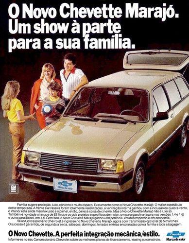 1983 Chevrolet Chevette Marajó - Brasil