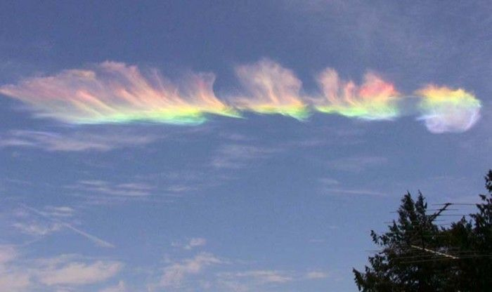 Weird Fire Rainbows That Appear In The Sky Have You Ever Seen Them Pouted Com Fire Rainbow Rainbow Photo Natural Phenomena