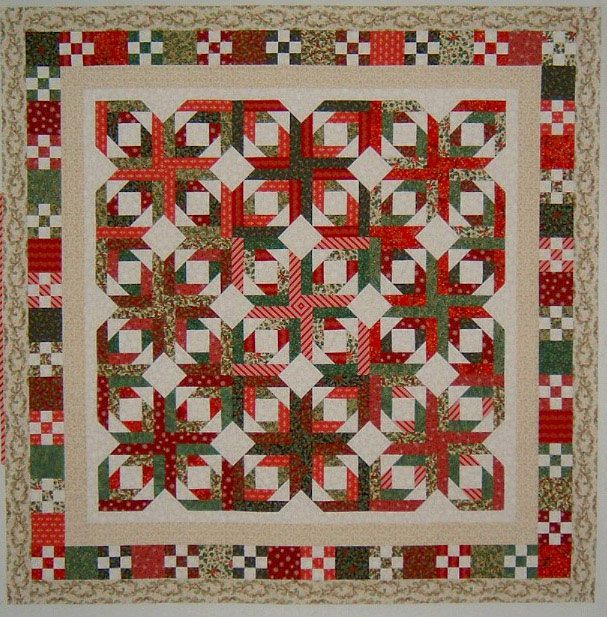 Pineapple Blossom pattern by Bonnie Hunter. Love the border!