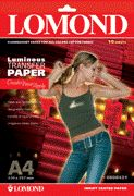 Lomond Thermotransfer Inkjet Paper A4/10 Fluorescent