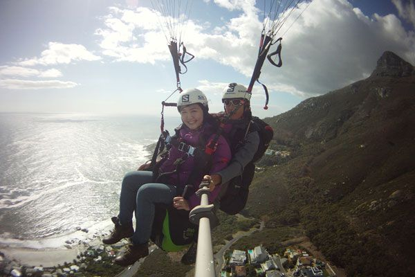 The Day I Flew (My Paragliding Experience in Cape Town!) ...